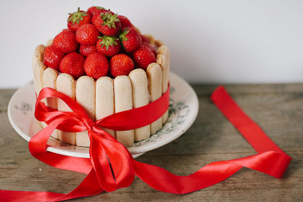 aardbeien charlotte Francescakookt