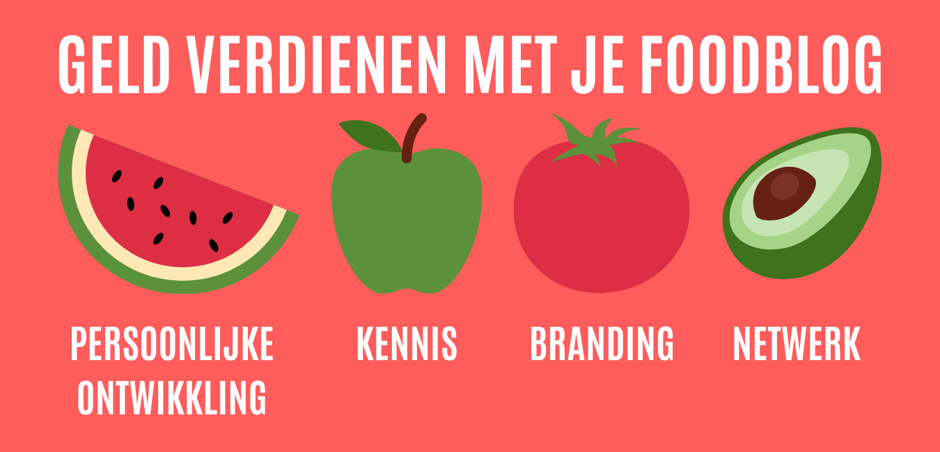 Business Ingredients - Wil jij geld verdienen met je foodblog?